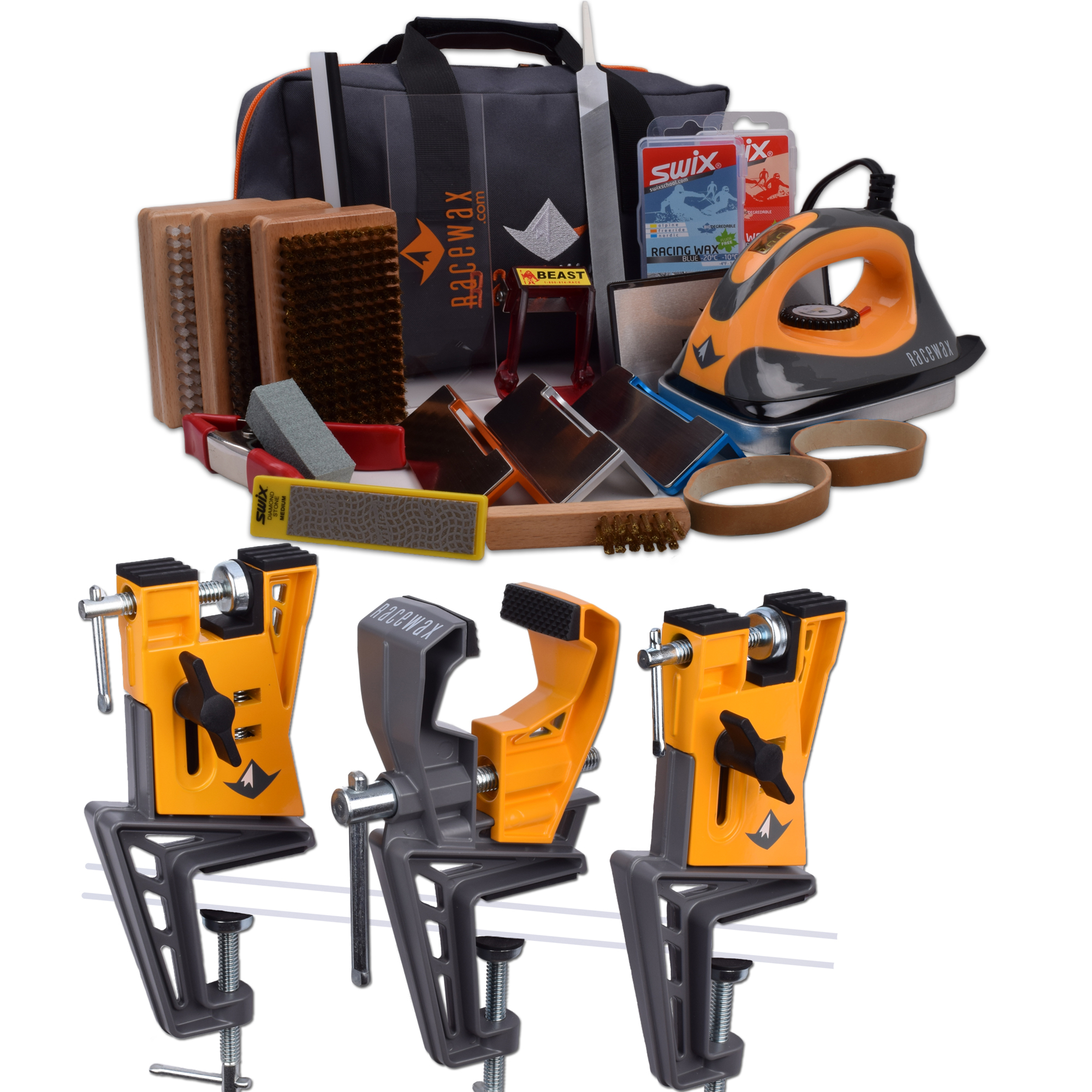 Ski Tuning Kits with Irons & More