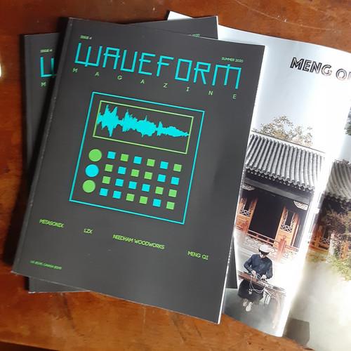 Issue #4 PRINT version Feat.-  Needham Woodworks, Metasonix, LZX, Meng Chi