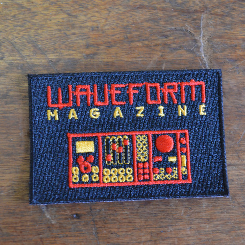 Waveform Iron On Patch