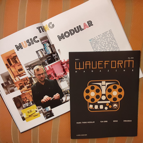 Issue #5 PRINT version Feat. - Tom Erbe/Dreadbox/Serge Tcherepnin/Music Thing Modular