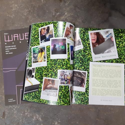 Issue #6 PRINT version Feat. - Richard Devine/SOMA/Anna Martinova/1010 Music