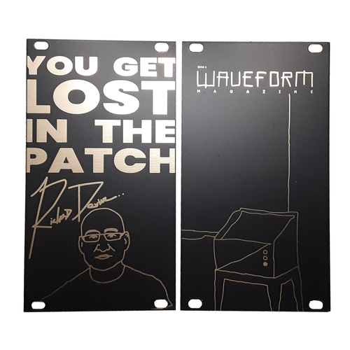 Richard Devine Pro Signature Series 14 HP Blank Panel Eurorack Module