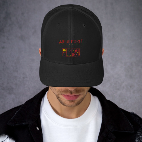 Waveform Issue #3 Cover Image Trucker Cap