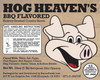 Hog Heaven BBQ label
