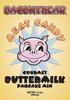 label for Bacon Freak's gourmet buttermilk pancake mix.