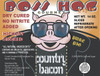 Boss Hog No Nitrite Hickory Smoked Country Bacon label