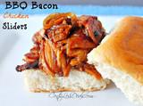 BBQ Bacon Chicken Sliders