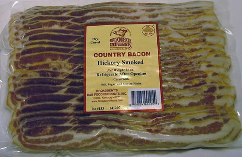 Broadbent Hickory Smoked Bacon