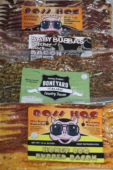 Bacon Freak's 4 bacon flavor combo bundle