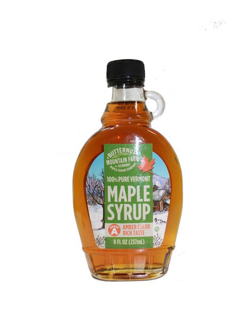 Pure Vermont Grade A Amber Maple Syrup