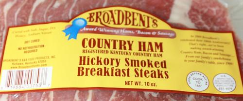 Hickory Smoked Breakfast Ham Steaks