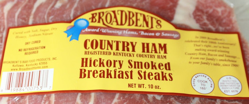 Hickory Smoked Breakfast Ham Steaks