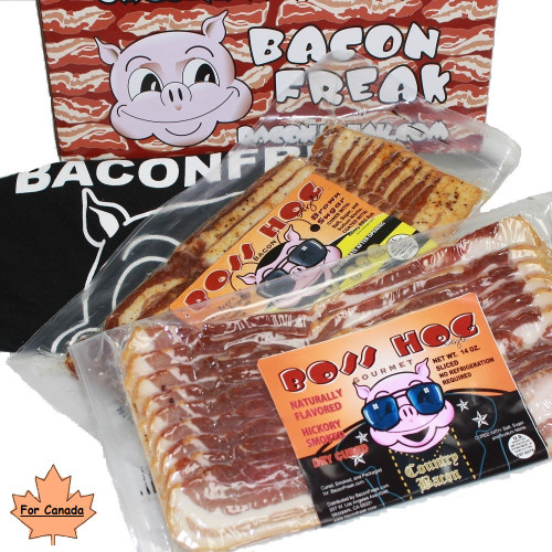 Bacon is Meat Candy Bacon of the Month Club 3 Months - Canadian Delivery