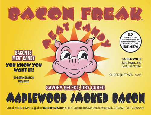 Bacon Freak Maplewood Smoked