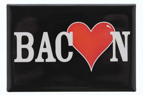 Bacon Heart Metal Magnet