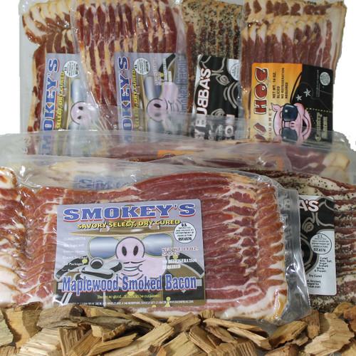 Bacon Freak Dry-Cured Canadian Bundle