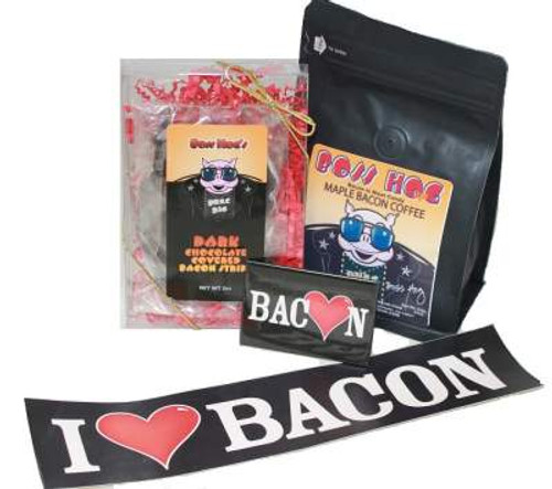 I heart bacon chocolate & coffee bundle