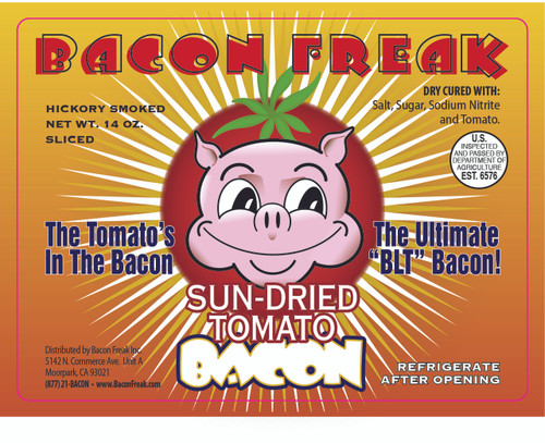 Bacon Freak Sun-Dried Tomato front