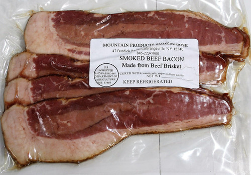 Mountain Smokehouse Beef Bacon