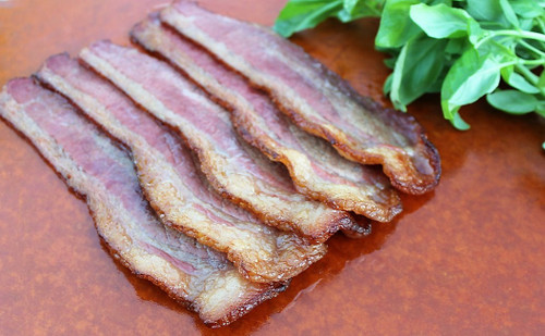 Mountain Smokehouse Cooked Beef Bacon made from Beef Brisket