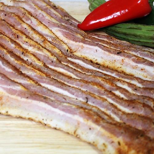 Uncured Cajun Bacon