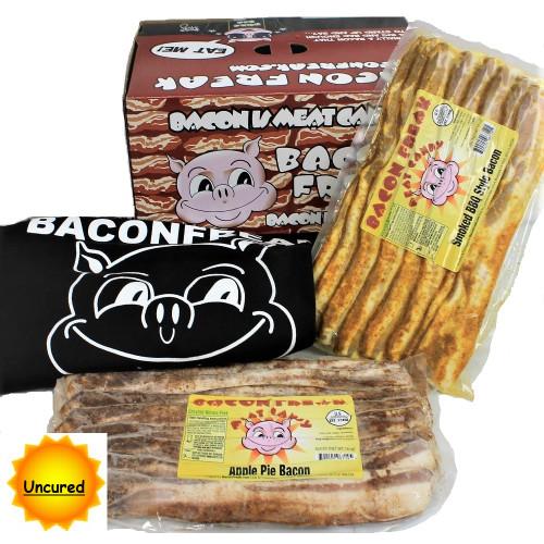 Bacon Freak Uncured Bacon Canadian month 1