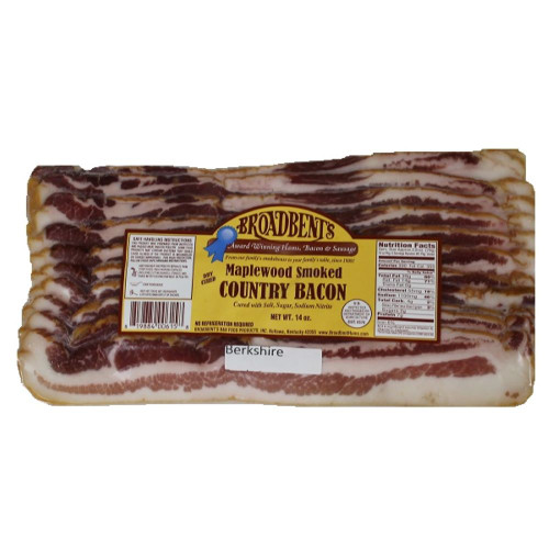 Broadbent Maplewood Smoked Berkshire Bacon