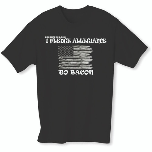 I Pledge Allegiance to Bacon T-Shirt