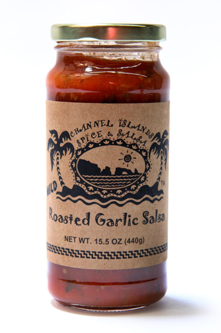 Channel Islands Roasted Garlic Salsa