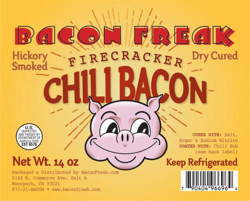 Bacon Freak Firecracker Chili Bacon