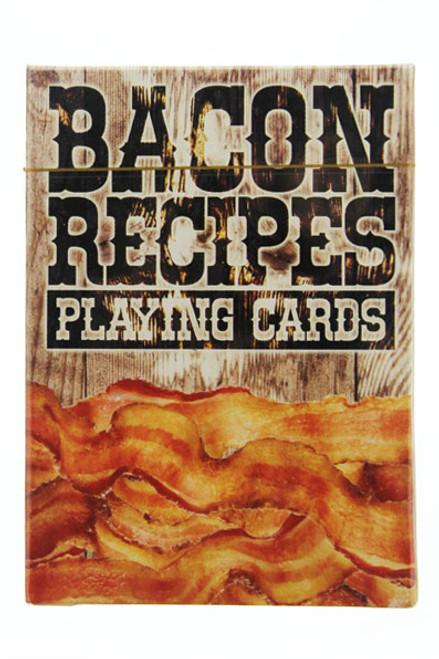 Bacon recipe cards