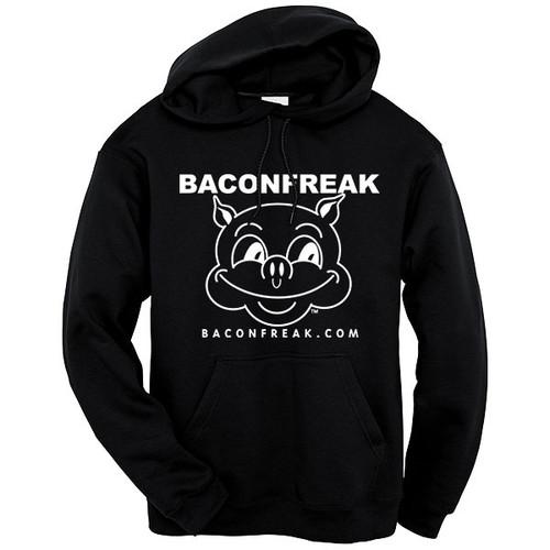 Bacon Freak (Original Pig) Hooded Sweatshirt