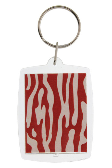 Bacon Strip Keychain