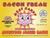 Bacon Freak Applewood Smoked Bacon label