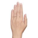 Raw diamond engagement ring by Olivia Ewing Jewelry