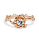 Verona Diamond Solitaire Ring by Olivia Ewing Jewelry