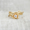 Verona Diamond Solitaire Ring
