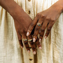 Branch wedding ring by Olivia Ewing Jewelry