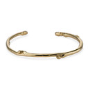 Sapling Cuff Bracelet by Olivia Ewing Jewelry