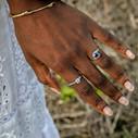 Nature jewelry by Olivia Ewing Jewelry