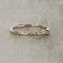 Juniper twig engagement ring by Olivia Ewing Jewelry