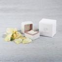 Velvet ring box by Olivia Ewing Jewelry