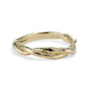 Men's Gold Union Ring by Olivia Ewing Jewelry