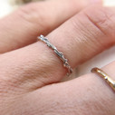 Tree inspired ring by Olivia Ewing Jewelry