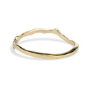 Unique gold wedding ring by Olivia Ewing Jewelry