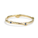 Garland Sapphire Ring by Olivia Ewing Jewelry