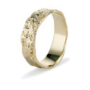 Unique wedding ring for men by Olivia Ewing Jewelry