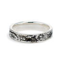 Silver Syracuse Ring by Olivia Ewing Jewelry