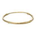 Gold Calais bangle by Olivia Ewing Jewelry