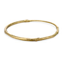 Twig bangle in 14K yellow gold by Olivia Ewing Jewelry